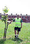 Vincent Churchill who helped clean up after trees were cut down in Moneymore by vandals...Photo NEWSFILE/Jenny Matthews.(Photo credit should read Jenny Matthews/NEWSFILE)....This Picture has been sent you under the condtions enclosed by:.Newsfile Ltd..The Studio,.Millmount Abbey,.Drogheda,.Co Meath..Ireland..Tel: +353(0)41-9871240.Fax: +353(0)41-9871260.GSM: +353(0)86-2500958.email: pictures@newsfile.ie.www.newsfile.ie.FTP: 193.120.102.198.