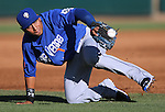 Las Vegas 51s shortstop Wilfredo Tovar dives for a ball in a game against the Reno Aces in Reno, Nev., on Sunday, July 26, 2015. The 51s won 15-9.<br /> Photo by Cathleen Allison