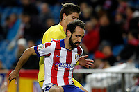 Juanfran Torres of Atletico de Madrid's during La Liga match between Atletico de Madrid and Villarreal at Vicente Calderon stadium in Madrid, Spain. December 14, 2014. (ALTERPHOTOS/Caro Marin) /NortePhoto