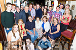 Seamus O'Sullivan, Glencuttane Kilgobnet who celebrated his 21st birthday with his family and friends in Bunkers bar Killorglin on Saturday night