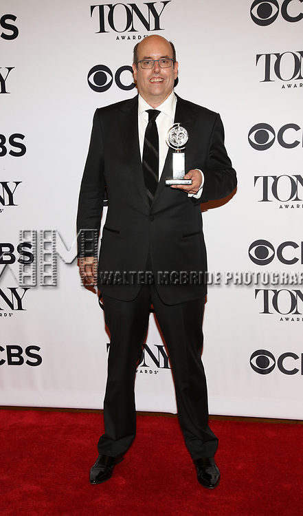 Christopher Ashley poses at the 71st Annual Tony Awards, in the press room at Radio City Music Hall on June 11, 2017 in New York City.