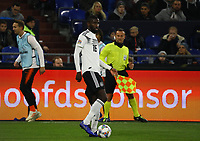 Antonio Rüdiger (Deutschland Germany) - 19.11.2018: Deutschland vs. Niederlande, 6. Spieltag UEFA Nations League Gruppe A, DISCLAIMER: DFB regulations prohibit any use of photographs as image sequences and/or quasi-video.