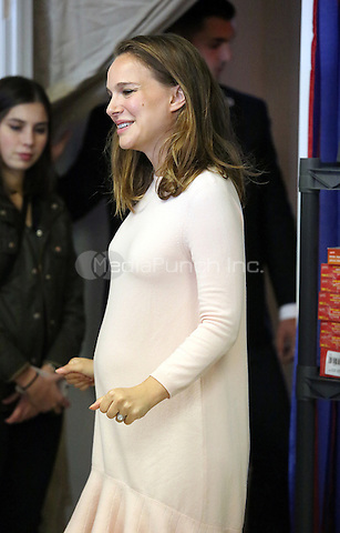 PHILADELPHIA, PA - OCTOBER 10 :  Academy-award winning actress and activistNataliePortmanpictured campaigning for Hillary Clinton at the Northeast Philadelphia Coordinated Campaign Office in Philadelphia, Pennsylvania on October 10, 2016  photo credit  Star Shooter/MediaPunch