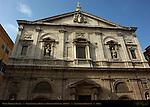 Proto-Baroque Facade Giacomo della Porta Domenico Fontana 1588 San Luigi dei Francesi Rome