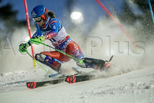 8th February 2019, Are, Sweden; Alpine skiing: Combination, ladies: Petra Vlhova from Slovakia on the slalom course.