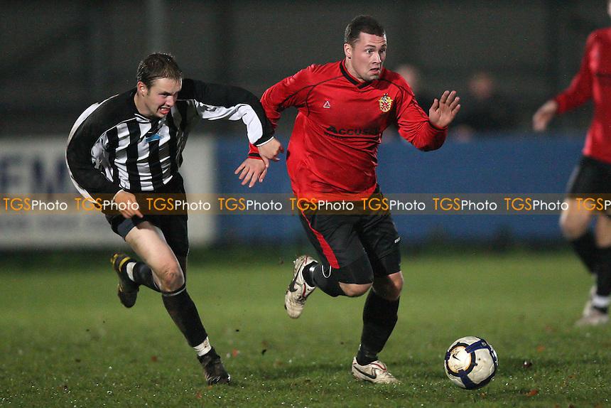 Billy Coyne in action for Hornchurch - Eton Manor vs AFC Hornchurch - Essex Senior Cup Football at Mayesbrook Park, Barking FC - 01/11/10 - MANDATORY CREDIT: Gavin Ellis/TGSPHOTO - Self billing applies where appropriate - Tel: 0845 094 6026