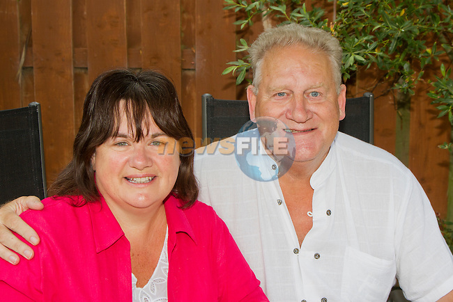 Attending the coffee morning were Sandra and Benny..Picture: Shane Maguire / www.newsfile.ie.