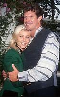 David and Pamela Hasselhoff, 1994, Photo By Michael Ferguson/PHOTOlink