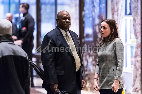 Lockheed Martin Senior Vice President Leo S. Mackay, Jr. is seen in the lobby of Trump Tower in New York, NY, USA on January 3, 2017. Photo Credit: Albin Lohr-Jones/CNP/AdMedia
