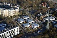 Asylantenheim Bergedorf West: EUROPA, DEUTSCHLAND, HAMBURG, BERGEDORD (EUROPE, GERMANY), 28.12.2014: Asylantenheim Bergedorf West