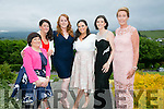 l-r  Sinead Cronin, Kathleen O'Sullivan, Katie O'Riordan, Ester Cronin, Mairead Keane and Clare Joy at the Women in Business Awards in Ballyroe Heights Hotel on Friday