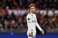 Luka Modric Real <br />  during the Uefa Champions League 2018/2019 Group G football match between AS Roma and Real Madrid at Olimpico stadium Allianz Stadium, Rome, November, 27, 2018 <br />  Foto Antonietta Baldassarre / Insidefoto