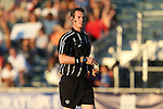 01 August 2015: Referee Daniel Fitzgerald. The Carolina RailHawks hosted the Tampa Bay Rowdies FC at WakeMed Stadium in Cary, North Carolina in a North American Soccer League 2015 Fall Season match. The game ended in a 1-1 tie.