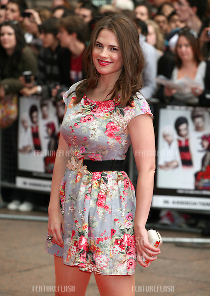 Hayley Atwell arriving for the UK premiere of 'Scott Pilgrim Vs The World' at the Empire Leicester Square, London. 18/08/2010  Picture by: Alexandra Glen / Featureflash