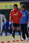 Nahomi Kawasumi (JPN), FEBRUARY 11, 2012 - Football / Soccer : Nadeshiko Japan team training Wakayama camp at Kamitonda Sports Center in Wakayama, Japan. (Photo by Akihiro Sugimoto/AFLO SPORT) [1080]