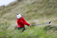 Emma Guinane (Limerick) during the 2nd round of the Irish Women's Open Stroke Play Championship, Enniscrone Golf Club, Enniscrone, Co. Sligo. Ireland. 16/06/2018.<br /> Picture: Golffile | Fran Caffrey<br /> <br /> <br /> All photo usage must carry mandatory  copyright credit (© Golffile | Fran Caffrey)