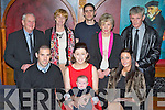 Emma Griffin Killarney and Morgan McCarthy Milltown who christened their son Lucas James in the Killarney Avenue Hotel on Friday front row l-r: Morgan McCarthy, Emma Griffin, Lucas James McCarthy, Madeline Healy. Back row: Denis, Angela Griffin, Kevin, Deloras and Donie McCarthy..