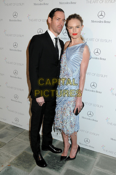 11 January 2014 - Los Angeles, California - Michael Polish, Kate Bosworth. 7th Annual Art of Elysium Heaven Gala held at the Skirball Cultural Center.  <br /> CAP/ADM/BP<br /> &copy;Byron Purvis/AdMedia/Capital Pictures