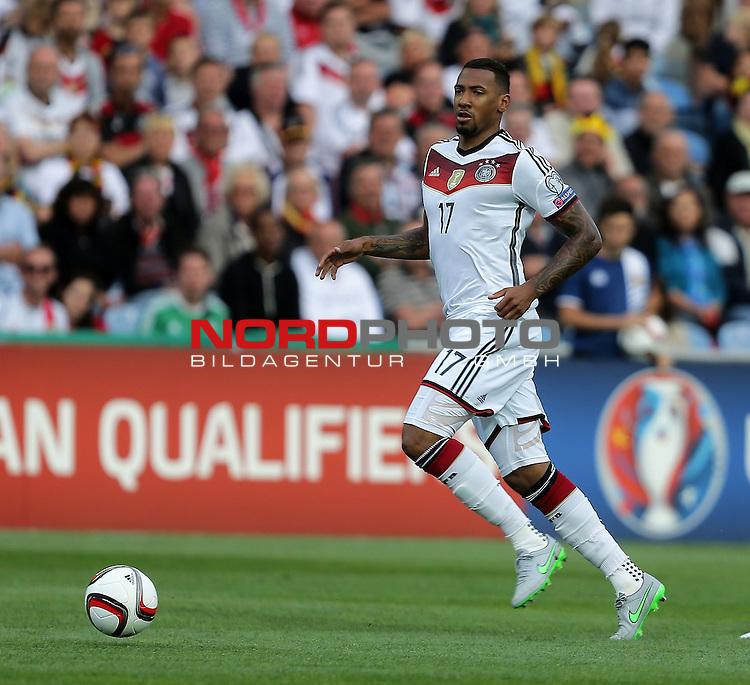 EM 2015 Qualifikationsspiel, Gibraltar vs. Deutschland<br /> J&eacute;rome Boateng (Deutschland)<br /> <br /> <br /> Foto &copy; nordphoto /  Bratic