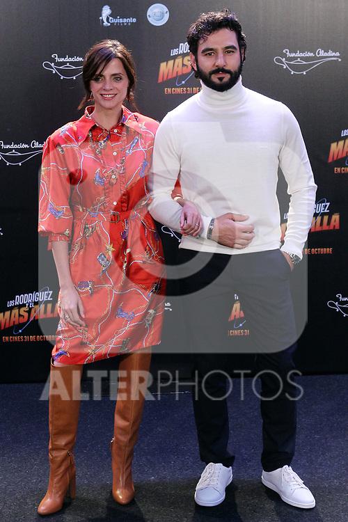 Macarena Gomez and Antonio Velazquez attend Los Rodriguez y el mas alla photocall on October 22, 2019 in Madrid, Spain.(ALTERPHOTOS/ItahisaHernandez)