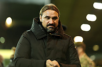 8th November 2019; Carrow Road, Norwich, Norfolk, England, English Premier League Football, Norwich versus Watford; Norwich City Manager Daniel Farke - Strictly Editorial Use Only. No use with unauthorized audio, video, data, fixture lists, club/league logos or 'live' services. Online in-match use limited to 120 images, no video emulation. No use in betting, games or single club/league/player publications