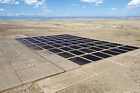 Photovoltaic solar energy power plant near Cimarron, NM