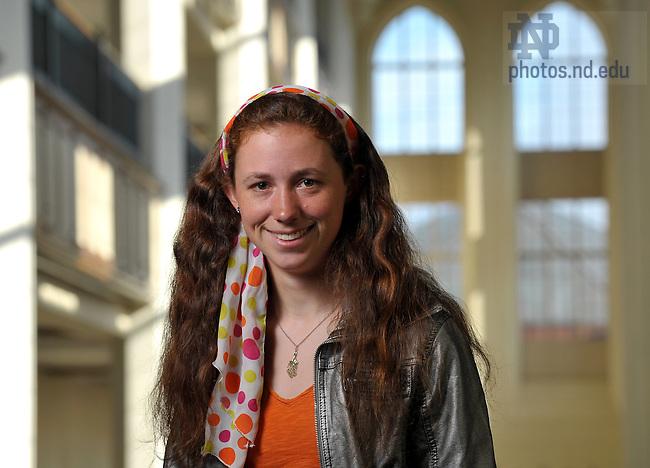 Kim Schlesinger for the Spirit Campaign Newsletter..Photo by Matt Cashore/University of Notre Dame