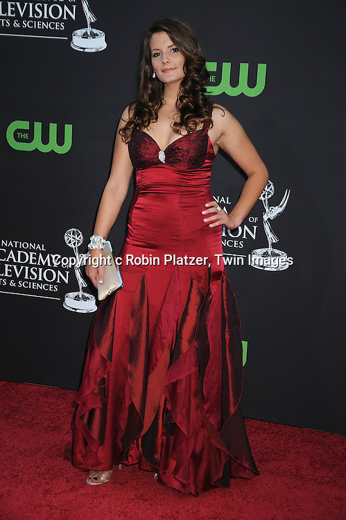 arriving at The 36th Annual Daytime Emmy Awards ..on August 30, 2009 at The Orpheum Theatre in Los Angeles, California...Photo by Robin Platzer,Twin Images