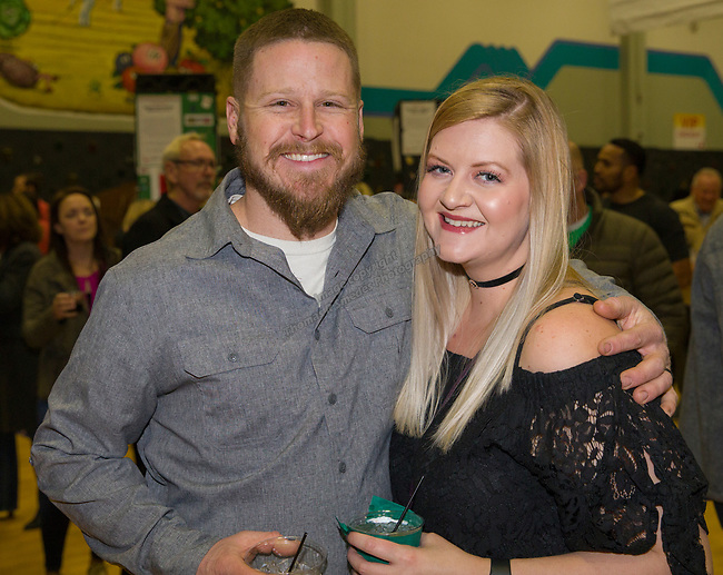 Jeremy and Annie Ellison during the 38th Annual Jack T. Reviglio Cioppino Feed and Auction at the Boys & Girls Club in Sparks on Saturday, February 24, 2018.