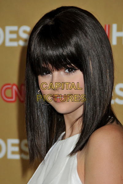 SELENA GOMEZ .at The CNN Heroes: An All Star Tribute held at The Kodak Theatre in Hollywood, California, USA, November 22nd 2008.                                                                  .portrait headshot  fringe  .CAP/ADM/BP.©Byron Purvis/Admedia/Capital PIctures