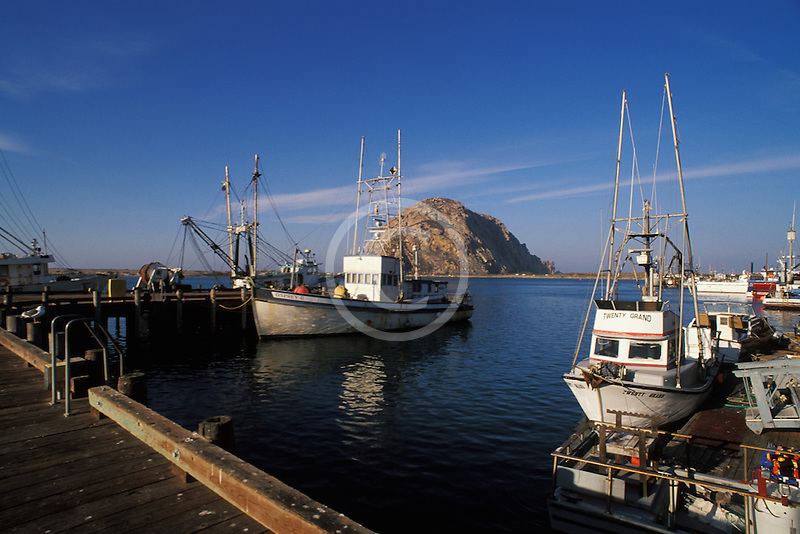 California, San Luis Obispo County, Fishing boats, Morro Bay