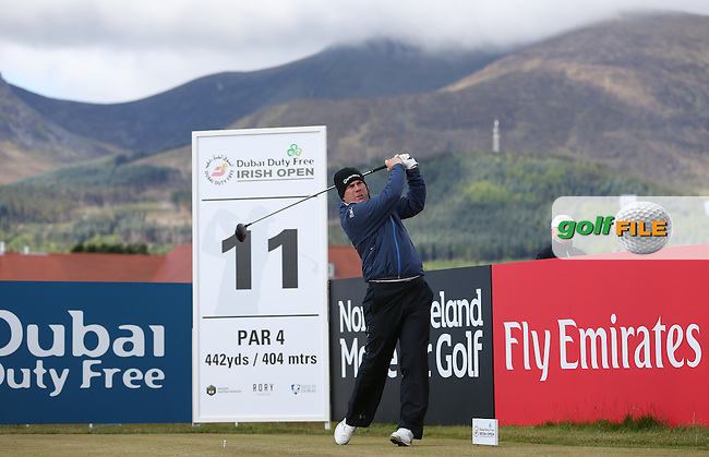 Richie Ramsey (SCO) plays to the 11th during Round Two of the 2015 Dubai Duty Free Irish Open Hosted by The Rory Foundation at Royal County Down Golf Club, Newcastle County Down, Northern Ireland. 29/05/2015. Picture David Lloyd | www.golffile.ie