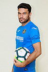Getafe CF's Jorge Molina during the session of the official photos for the 2017/2018 season. September 19,2017. (ALTERPHOTOS/Acero)