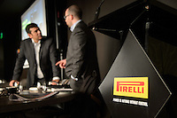 MELBOURNE, 15 March - Pirelli Media Briefing at the Rialto Building, 525 Collins Street ahead of the the 2012 Formula One Australian Grand Prix at the Albert Park Circuit in Melbourne, Australia. (Photo Sydney Low / syd-low.com)
