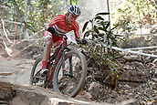 9th September 2017, Smithfield Forest, Cairns, Australia; UCI Mountain Bike World Championships; Annika Langvad (DEN)  during the elite womens cross country race