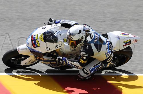06 06 2010 Robertino Pietri Ven Suter. Moto2 class, 600cc spec Honda eninges in prototype chassis. Gran Premio d'Italia TIM, Mugello circuit, Italy.