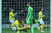 Blackburn Rovers' Danny Graham scores his sides first goal <br /> <br /> Photographer Rachel Holborn/CameraSport<br /> <br /> The EFL Sky Bet Championship - Preston North End v Blackburn Rovers - Saturday 24th November 2018 - Deepdale Stadium - Preston<br /> <br /> World Copyright © 2018 CameraSport. All rights reserved. 43 Linden Ave. Countesthorpe. Leicester. England. LE8 5PG - Tel: +44 (0) 116 277 4147 - admin@camerasport.com - www.camerasport.com