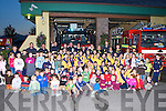 The large crowd of children who attended the Killarney fire brigade on Wednesday evening   Copyright Kerry's Eye 2008