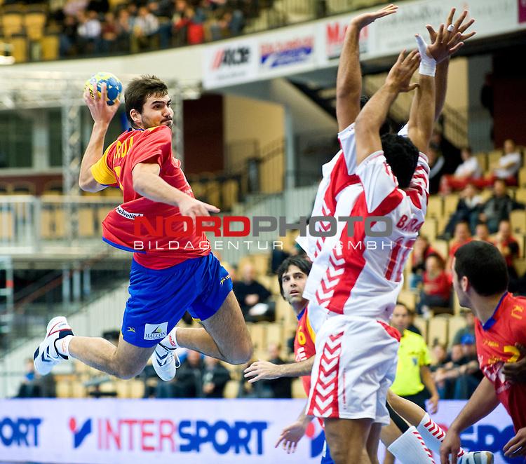 110114 Handboll, VM, Spanien - Bahrein: Pena Maqueda, Spanien<br /> <br />  Foto &copy; nph / BildbyrĆn   63676