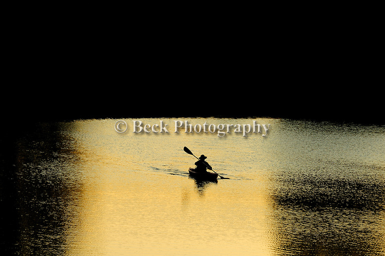 Last light on Lake Jean PA