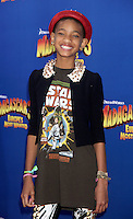 Willow Smith at the NY premiere of Madagascar 3: Europe's Most Wanted at the Ziegfeld Theatre in New York City. June 7, 2012. © RW/MediaPunch Inc. NORTEPHOTO.COM
