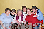 "RADIO: Enjoying the recording of ""The Rambling House"" by Radio Kerry in Jessie James Bar, Asdee on Friday night were Mary McNamara, Phil Dee, Sheila McElligott, Owen Tydings, Joan McElligott, and Annmarie Tydings, all Asdee.   Copyright Kerry's Eye 2008"