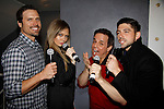 Joshua Morrow & Melissa Ordway & Christian Jules LeBlanc & Robert Adamson - The Young and The Restless - Genoa City Live celebrating over 40 on February 20, 2016 at the Wellmont Theatre, Montclair, NJ. on stage with questions and answers followed with autographs and photos in the theater.  (Photo by Sue Coflin/Max Photos)