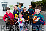 Kilcummin Comhaltas Easter Raffle is on in April 23rd in the Klub bar launching the event on Monday were Joe O'Connor with l-r: Michael Healy, Sarah piggot, Kirill Healy, Ella Kate Piggott, Alison Piggott and Liam Kerrisk