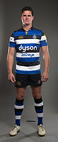 Freddie Burns poses for a photo during a Bath Rugby photoshoot on August 9, 2017 at Farleigh House in Bath, England. Photo by: Rogan Thomson for Onside Images