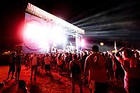 Festivalbesucher auf dem Float Fest 2017 auf der Cool River Ranch. Martindale, 22.07.2017