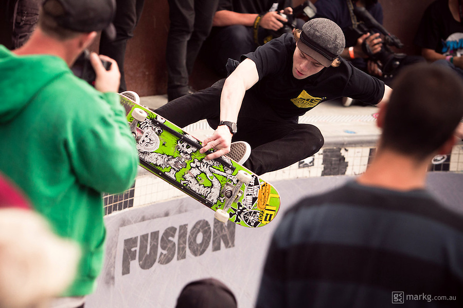 The 2012 Wellington Bowl-A-Rama was held at the Waitangi Park skate bowl on Saturday the 11th February in Wellington, New Zealand...The crowd packed the stands to witness Pedro Barros take out the pro division, and Pat Ngoho the masters. Both skaters took out their respective divisions for the 3rd year in a row...Organisers were calling it the biggest line up of talent to grace the park since the inception of the event in 2008.