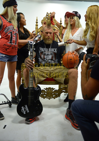 FORT LAUDERDALE, FL - AUGUST 29: Chris 'Birdman' Andersen attends a press call to promote Hard Rock Energy Drink on August 29, 2014 in Fort Lauderdale, Florida.  <br /> CAP/MPI/MPI10<br /> &copy;MPI10/MediaPunch/Capital Pictures