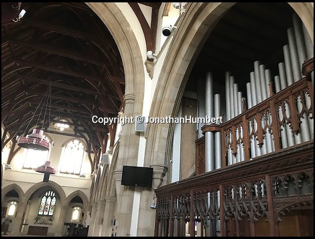 BNPS.co.uk (01202 558833)Pic: JonathanHumbert/BNPSThe 110 year old pipe organ in St. Pauls will now be 'ripped out and carved up'.<br /> <br /> A decision to remove a 'magnificent' 107-year-old pipe organ from a church in order to replace it with 'evangelical happy clappy music' has been met with outrage.<br /> <br /> The Chancellor for the Diocese of St Albans has ruled the 16ft wide instrument that has serenaded the congregation of St Paul's Church in the Hertfordshire market town for a century be ripped out and disposed of.<br /> <br /> It will be replaced with a digital organ and speakers at a cost of nearly £18,000 and will compliment 'bongos and guitars' <br /> <br /> But objectors - including trained organists - say the instrument is in fine working order and have accused the church officials of wasting money and doing away with tradition.