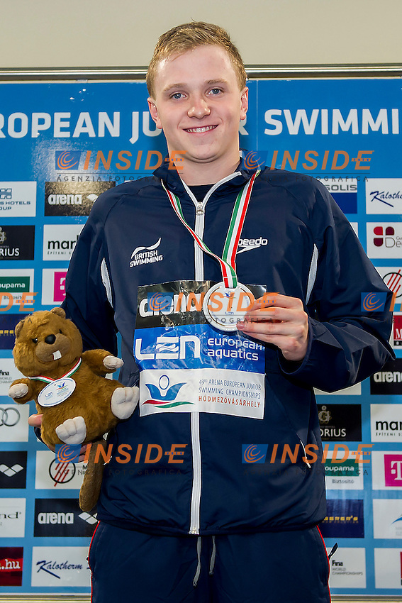 Litchfield Joe GBR<br /> 200 Medley Men Final Gold Medal<br /> LEN 43rd Arena European Junior Swimming Championships<br /> Hodmezovasarhely, Hungary <br /> Day03 08-07-2016<br /> Photo Andrea Masini/Deepbluemedia/Insidefoto